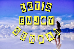 Let's enjoy SENDI