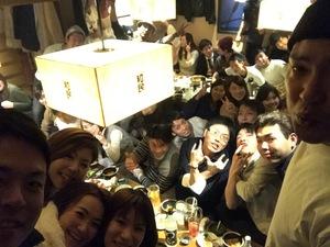 20代to呑み会