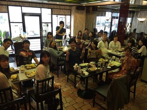 Language exchange in Osaka(Gfood)