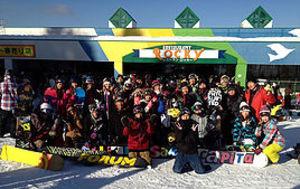 関西スノーボードサークル clap