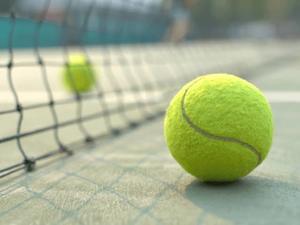 テニスで身体動かそー‼️