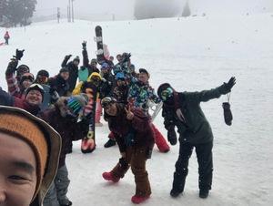 スノーボードしましょう♪