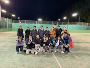 硬式テニスサークル 部員募集!!