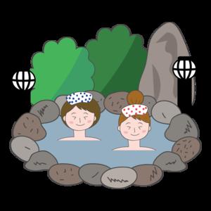 温泉でのんびりコン