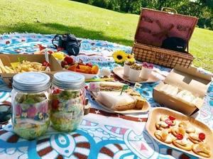 公園でピクニック♪