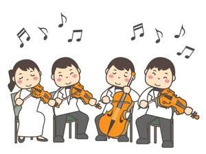 弦楽四重奏しませんか🎻