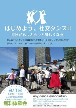 エニカツ!!any dance association公式部活動