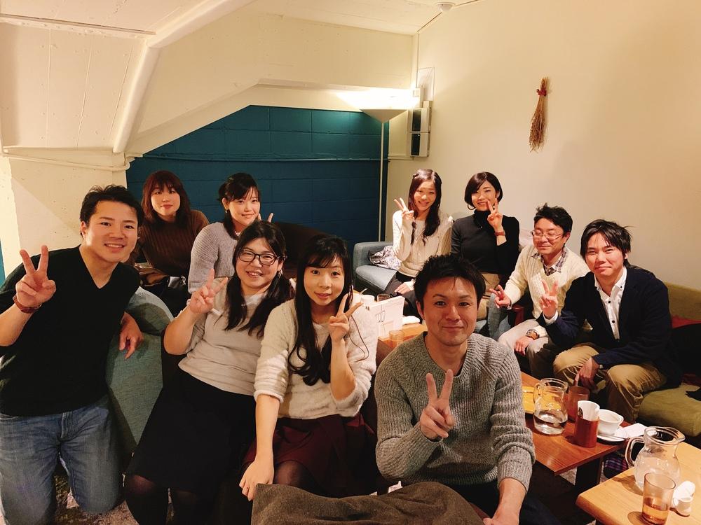 2/16(土)ゆる〜い夜カフェ会をします!