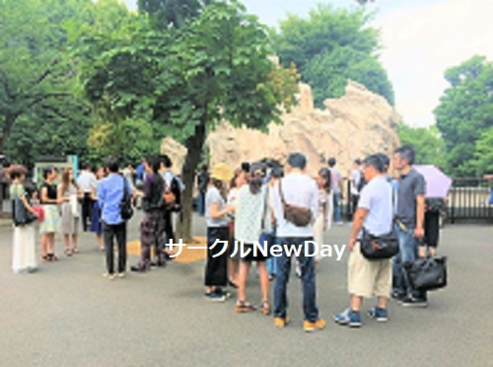 ★6/7 上野動物園の友達作り散歩会 ★