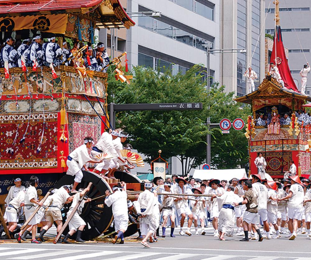 7月17日(水)京都の夏、祇園祭に行きましょう♪