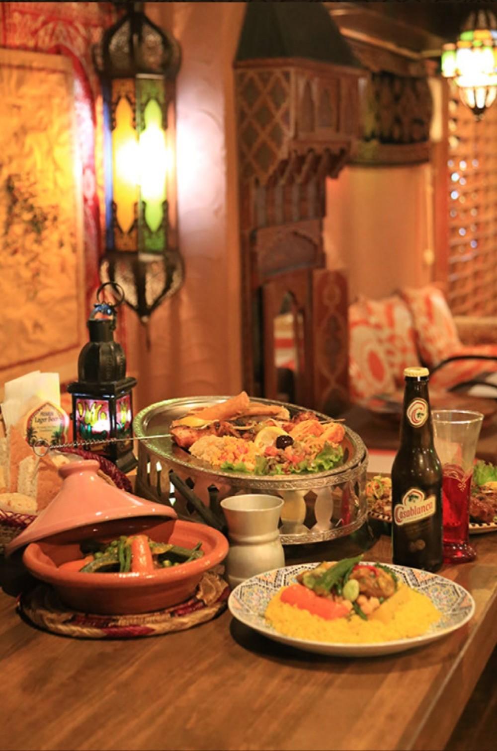 7月のランチの会😋 🇲🇦モロッコ料理🇲🇦