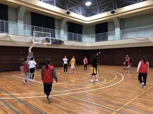 8/3土09:00~11:00@杉並区 部活経験バスケ