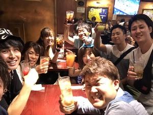江戸川花火大会で飲もうぜ🎇