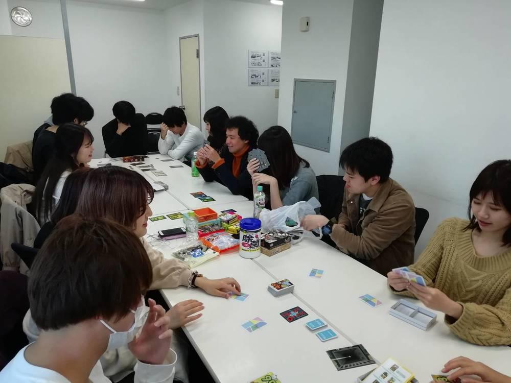 持ち寄りボードゲーム会@新宿(二次会で忘年会やります!)