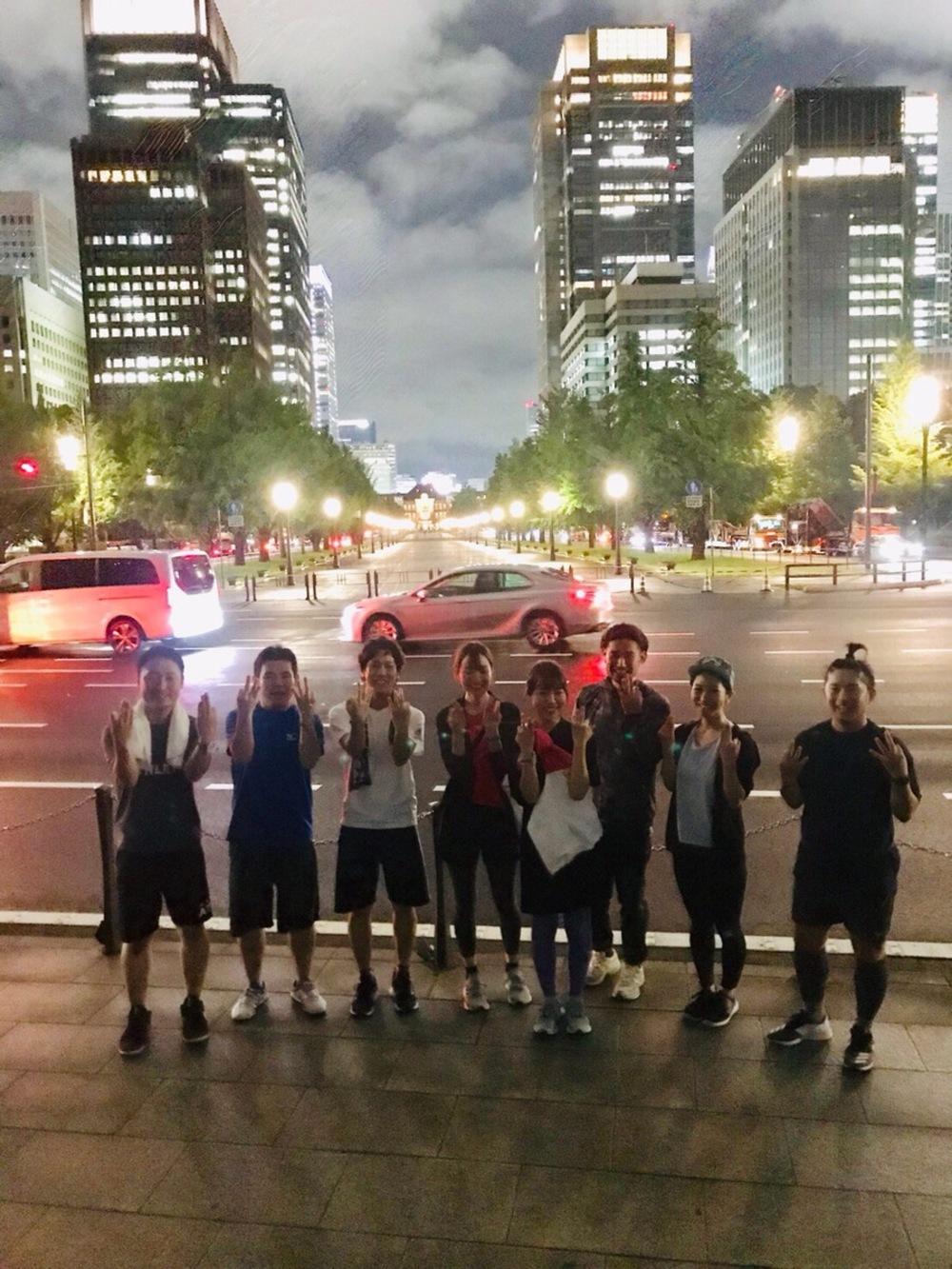 <皇居deランニング>毎週月曜20:00〜@永田町駅1分adidas RUNBASE【現在参加予定者5人】