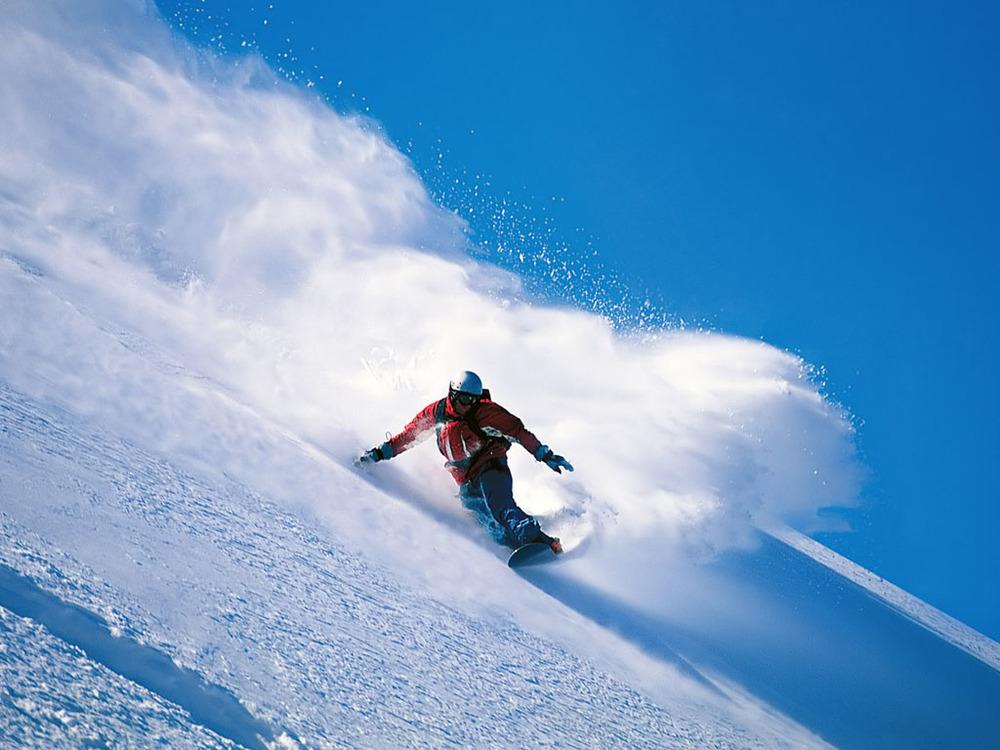 日帰りスノーボード