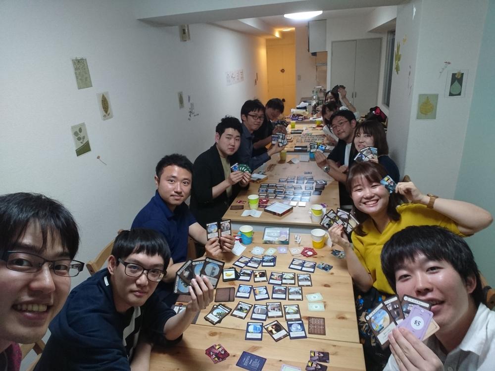 (初心者向け!) 第8回少人数ゲームで遊ぶボードゲームイベント❗