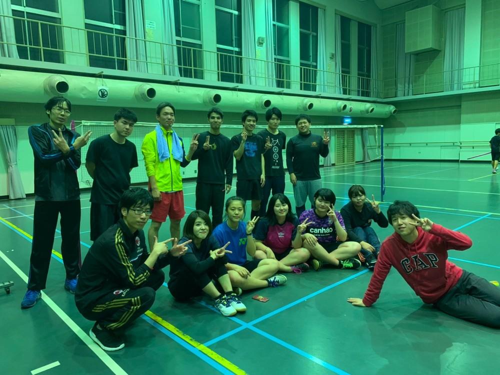バドミントンサークル「スピル」4/12(日)開催(^-^) 名古屋 愛知