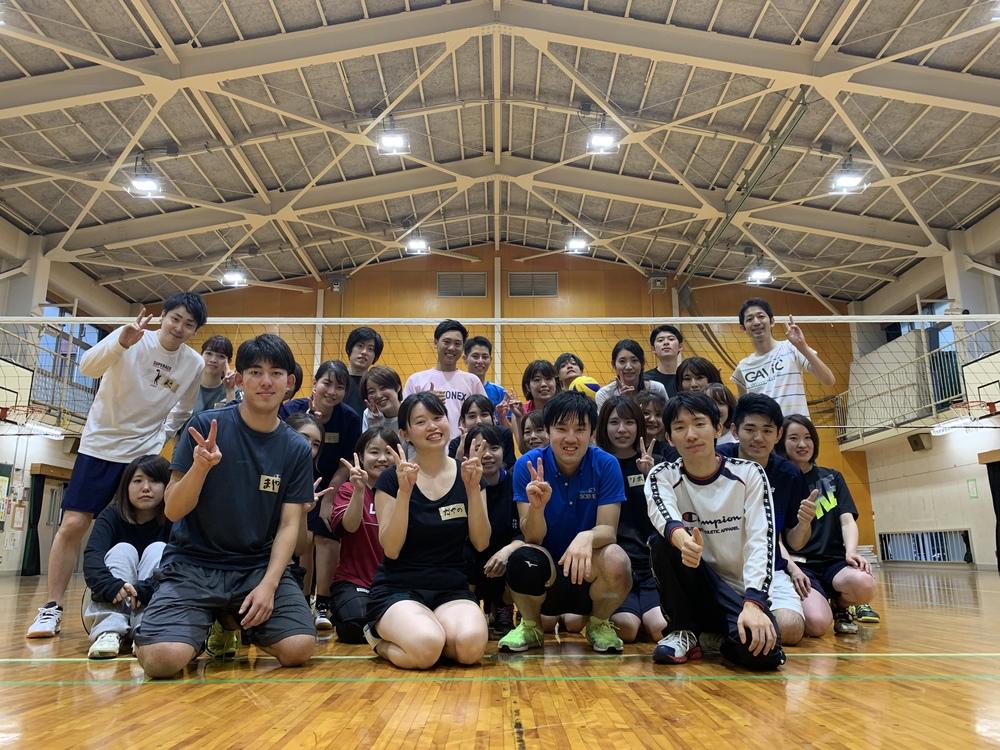 2月22日 土曜 9時~12時 一緒にバレーボールしましょう!!(^^)