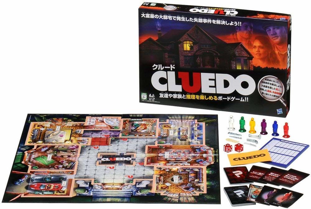 推理ボードゲーム「クルード(CLUEDO)」で遊ぶ@池袋レンタルスペース