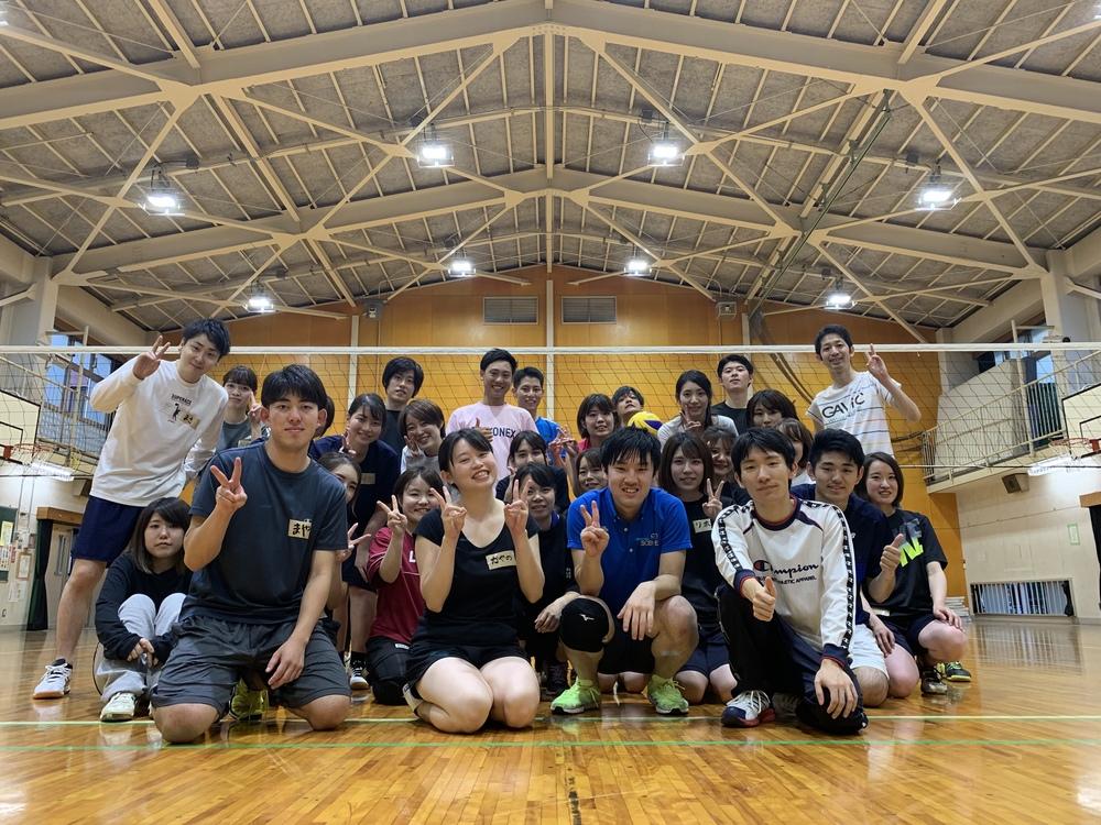 4月17日 金曜 18時~21時 一緒にバレーボールしましょう!!(^^)