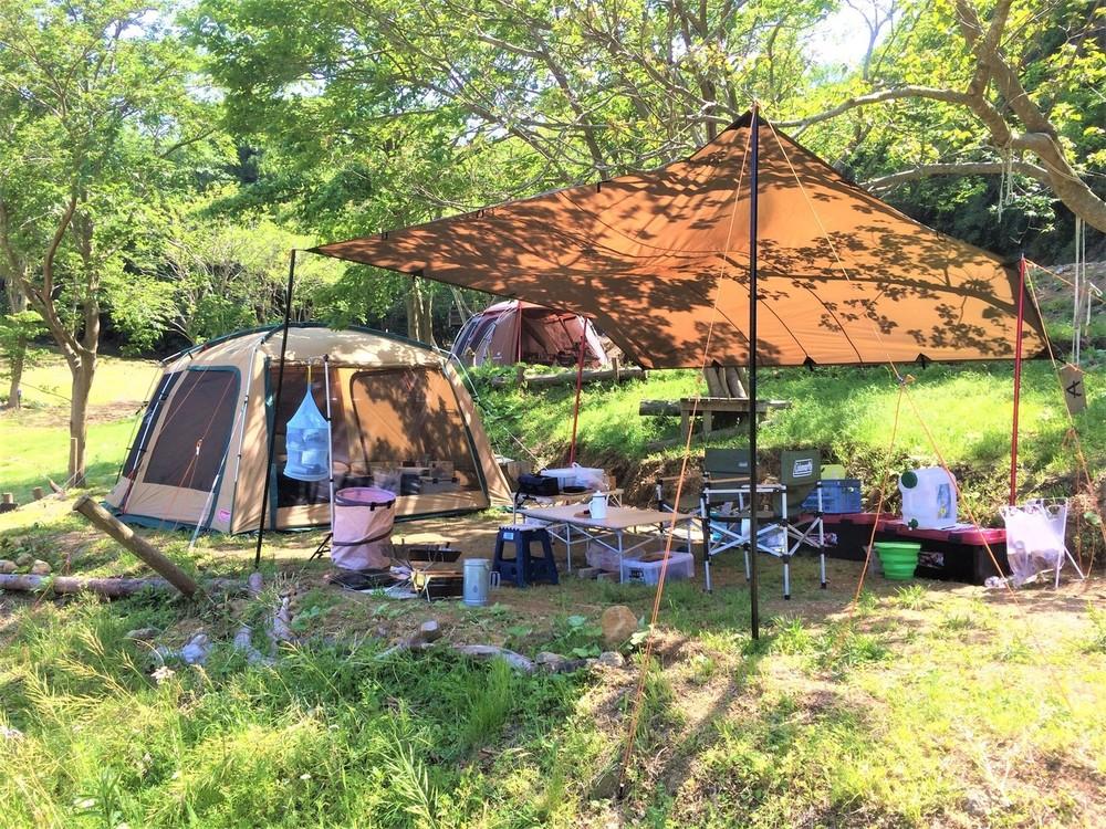 【中止】5/23-24 南伊豆ソロキャン向けキャンプ場でのゆったりキャンプ