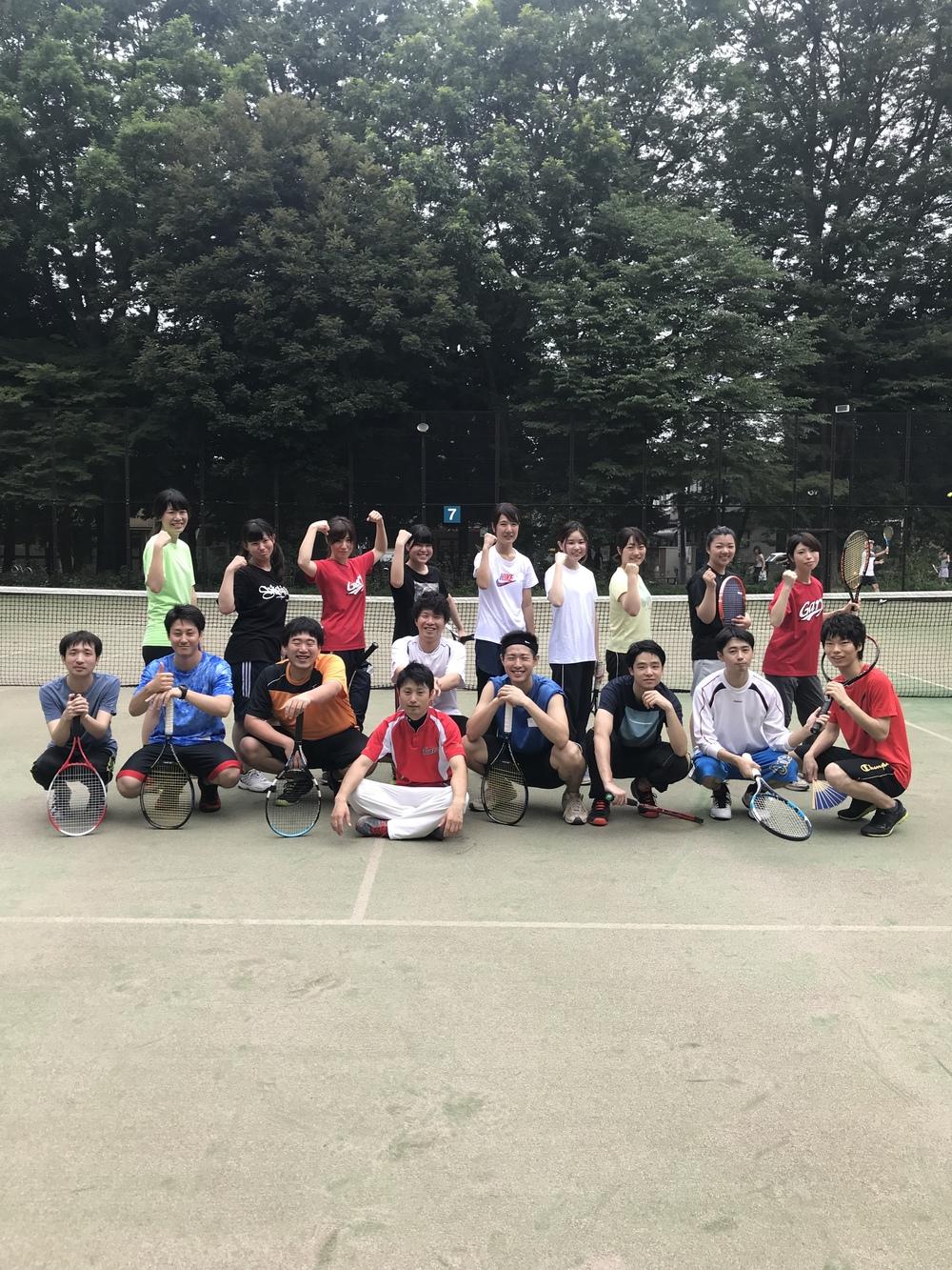 4/4(土) 9-11 吉祥寺テニス(初心者や女の子大歓迎)