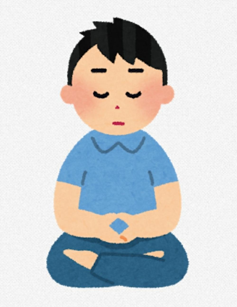 座禅会で瞑想体験!