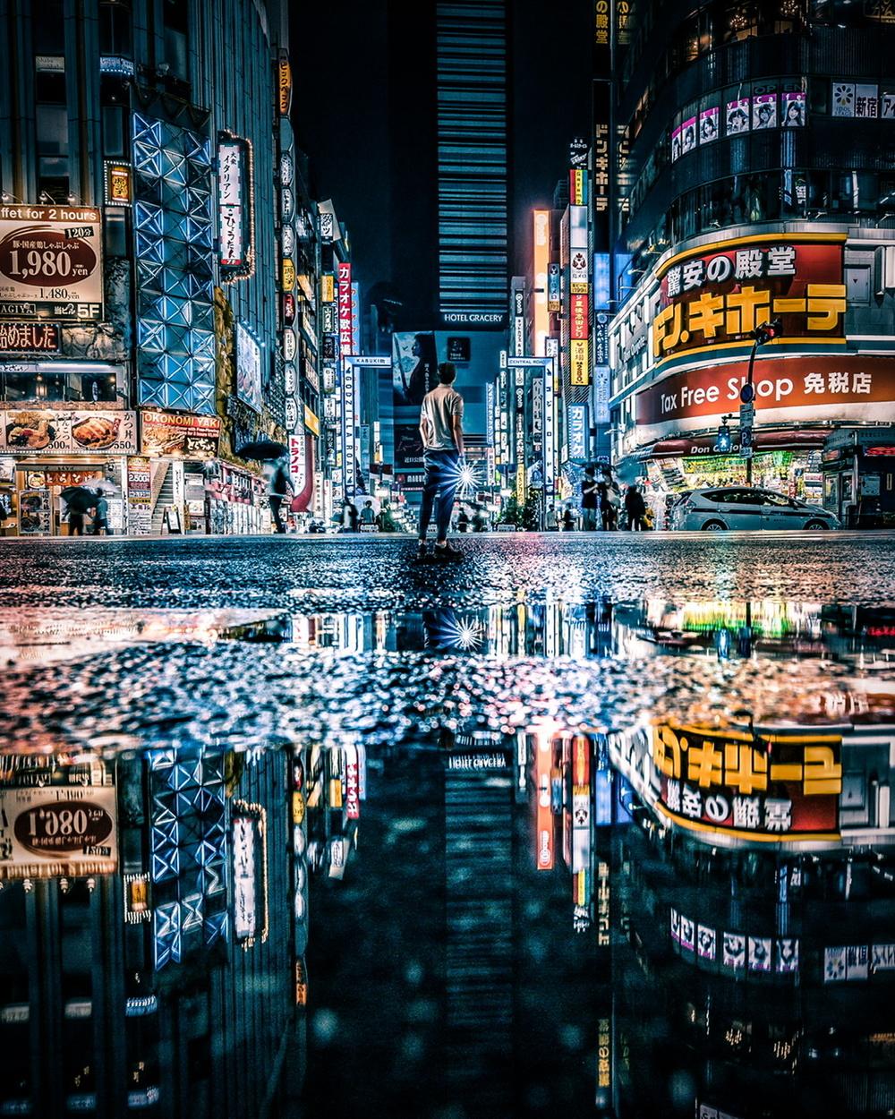 Night Photo Walk Shinjuku(荒天のため行先変更)