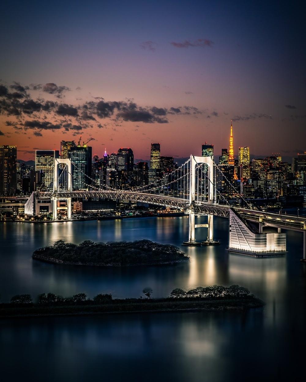 Sunset Photo Walk Odaiba