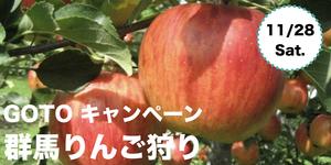GoToトラベルキャンペーンでお得に行こう!「りんご狩り」日帰りツアーで友達を作ろう!【つなげーと公式イベント】
