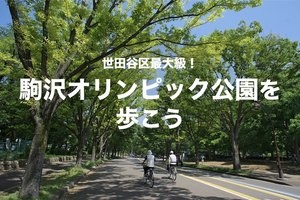 【駒沢オリンピック公園を歩こう!】世田谷区、最大の超巨大公園を散策しよう!
