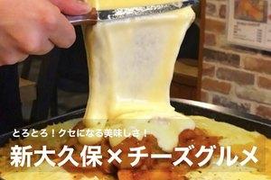 【新大久保×チーズ】とろっとろがたまらない!クセになるチーズグルメをみんな食べよう!