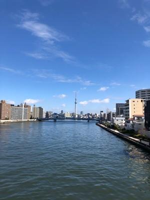 【銭湯×ジョギング】隅田川沿いを走ってリフレッシュしよう!