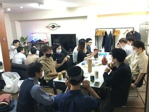 新宿のレンタルスペースで交流会開催