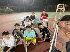 テニスやります! in名城庭球場