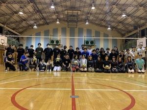 10月24日日曜18時~21時 一緒にバレーボールしましょう!!(^^)