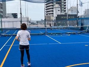 10/24(日) 19:00~日比谷公園でテニスしましょう!