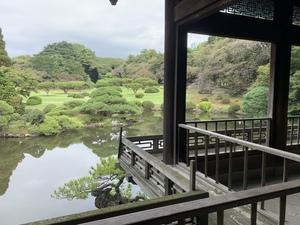 【20代前半にオススメ♪】清澄庭園で紅葉を楽しもう!!