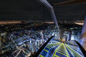 SHIBUYAスカイで夜景撮影📸