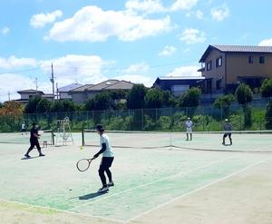 10月31日 緑ヶ丘テニス練習会