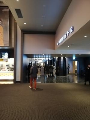 新宿で1200円映画鑑賞(水曜デー)します!