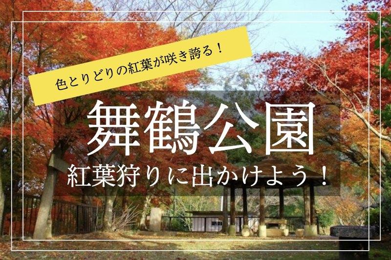 【舞鶴公園×紅葉狩り】もみじや銀杏が色とりどりに色づく。紅葉散歩に出かけよう!