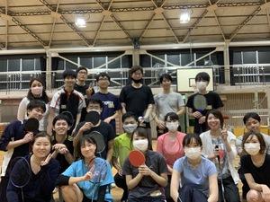 11月28日 日曜 19時から21時 バドミントン&卓球 初心者の未経験者のための社会人サークル(^^)