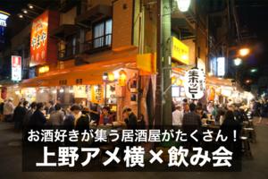 【アメ横×飲み会】お酒好きが集まる居酒屋がたくさん!アメ横に行こう!